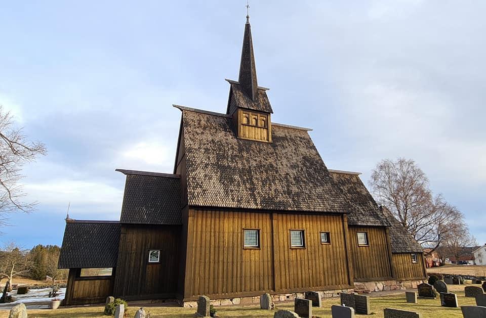 Høyjord stave church, Norway