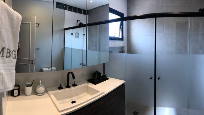 Diário de Obra - Banheiro da Suite!
