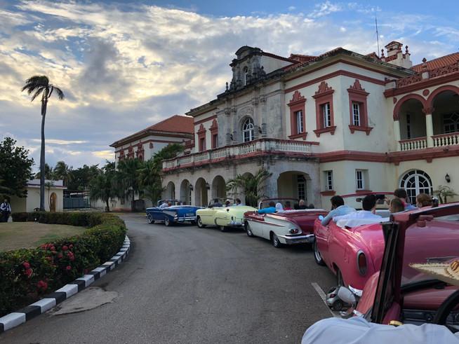 Nossa programação em Havana
