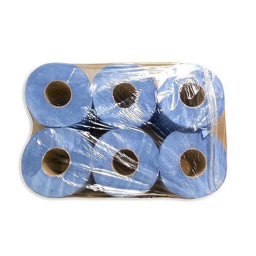 Toalhas de Mão Rolo Vertical Azul