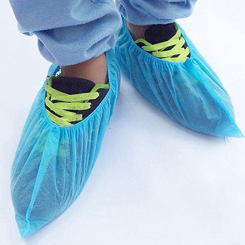 Cobre Sapatos em Plástico