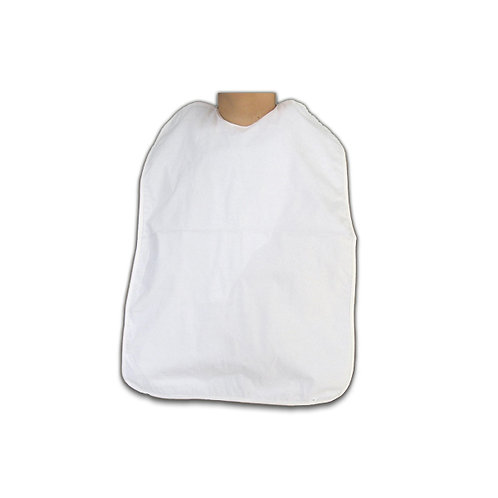 Babete Adulto Plastificado com Bolsa