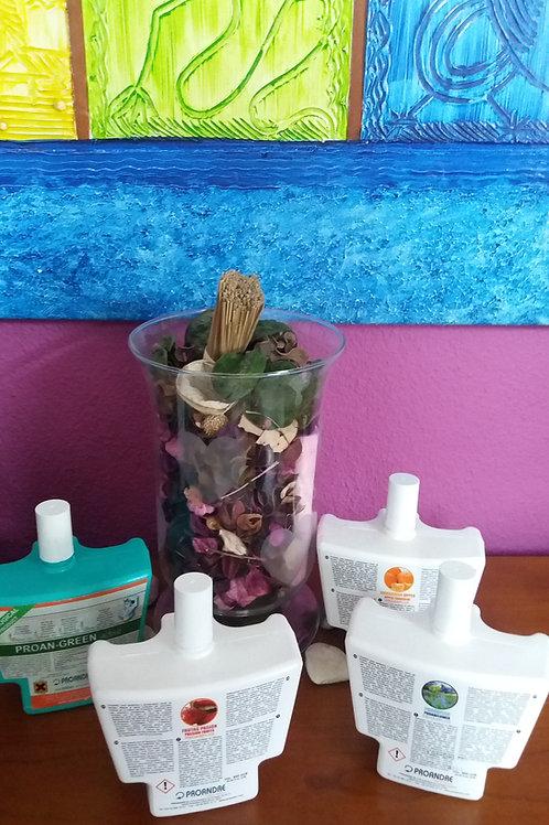 Recarga Bacteriostático Plus 600ml (vários aromas)