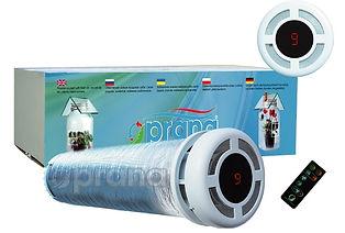 Prana-200C, soojustagasti, ventilatsiooniseade, ventilatsioon
