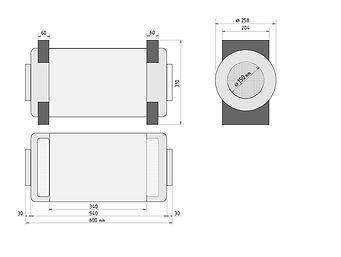 Prana-250, Prana rekuperaator, Pranavent, ventilatsioon, ventilatsiooniseade, värskeõhuklapp