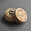 Thumbnail: Rustic Mini Engraved Wooden Ring Box