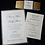 Thumbnail: Glittering Gold or Silver Wedding Invitations Cards