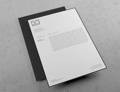 레터헤드 디자인 및 인쇄
