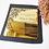 Thumbnail: Golden mirror acrylic invitation card