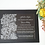 Thumbnail: Clear lace pattern acrylic invitation card