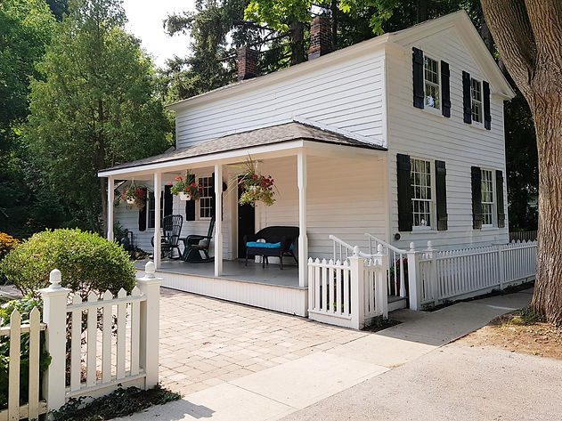 ALEXANDER MCKEE HOUSE CIRCA 1835