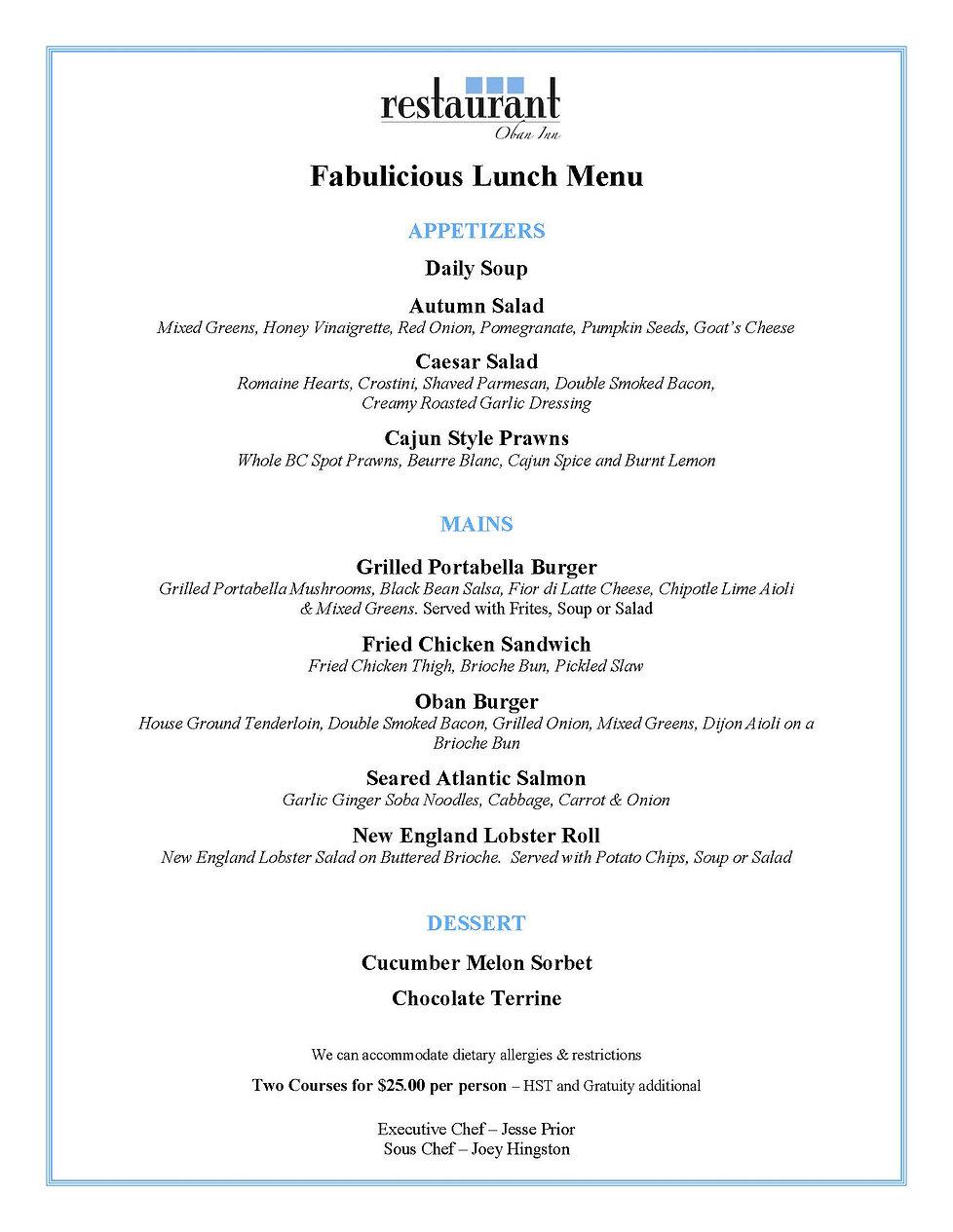 Oban Restaurant Fabulicious Lunch 2020.j