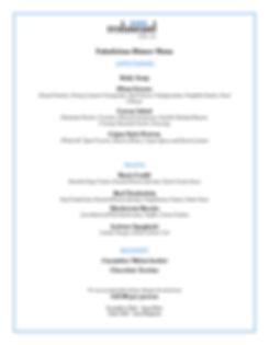 Oban Restaurant Fabulicious Dinner 2020.