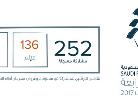 مهرجان أفلام السعودية يقفل التسجيل بـ 252 مشاركة في الدورة الرابعة