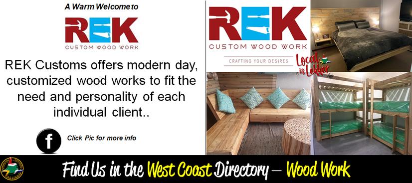 REK Custom Wood work