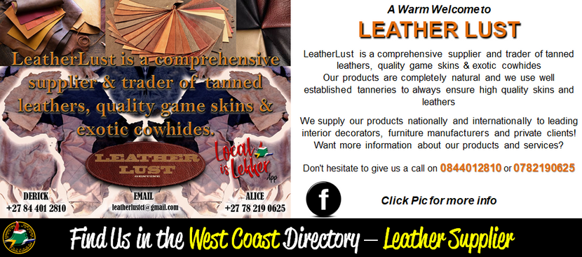 Leather Lust - Mailshot Welcomes March20