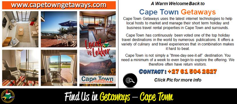 Cape Town Getaways