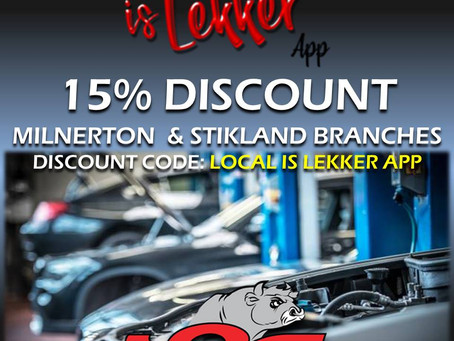 Check out this Lekker Special Offer!