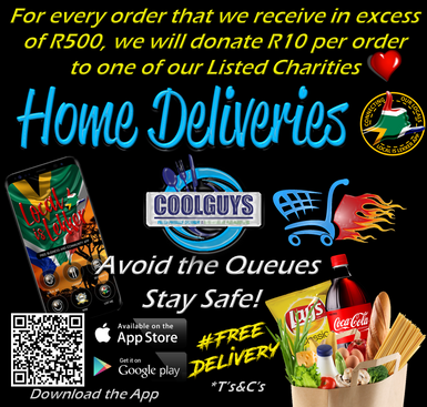 Home Deliveries - Cape Town and surrounds