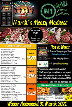 March's Meaty Madness- App Specials page