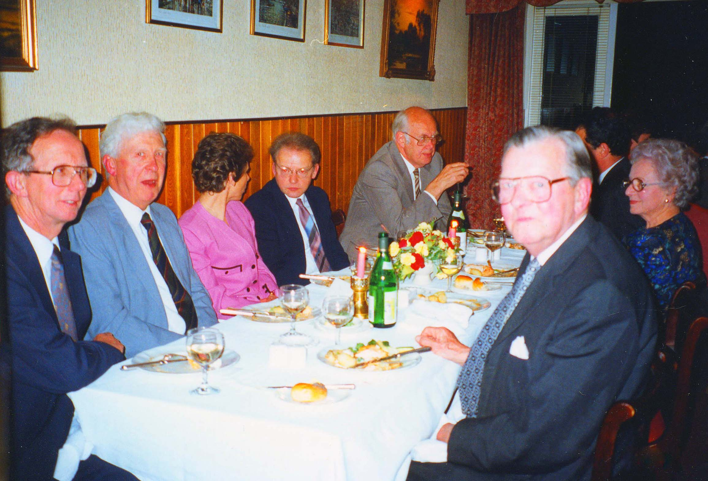 Celebration Meal in 1993