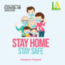 Copy of Stay Home Stay Safe Covid-19 Ins