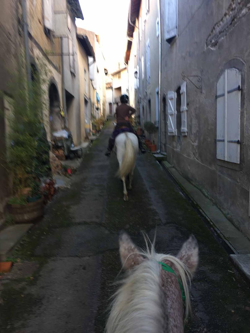 Petite rue de St Lizier