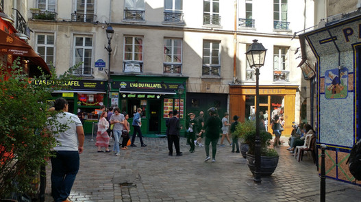 סיור מודרך במארהסיור מודרך במארה Le Marais