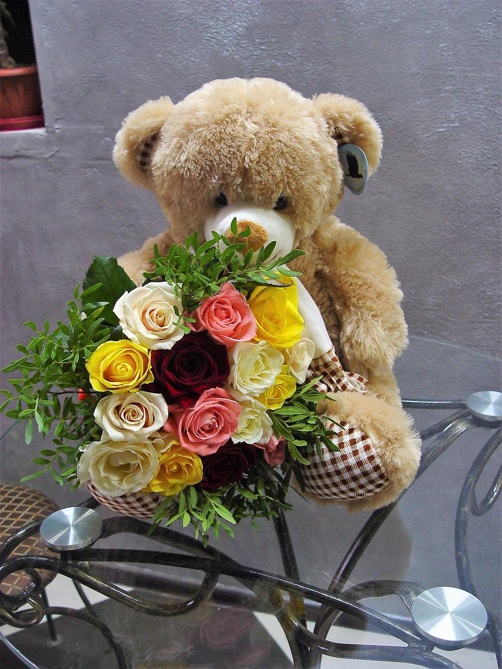 цветы и мягкая игрушка в оренбурге