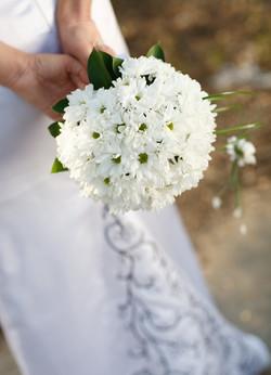 хризантема с зеленью