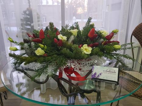 Настольная композиция Рождество