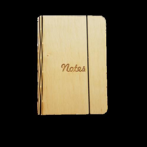 Timber  Veneer A6 Notebook