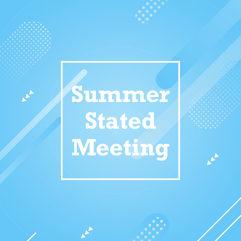 Summer Stated Meeting