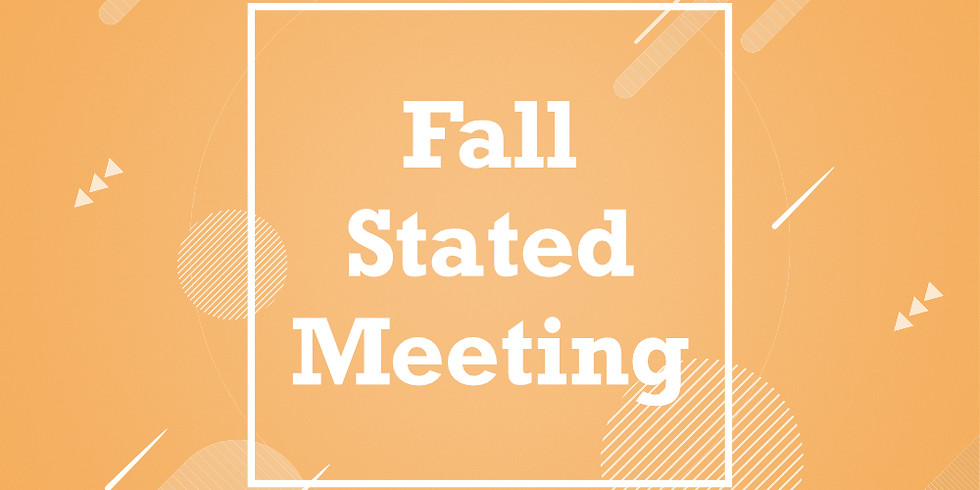 Fall Stated Meeting