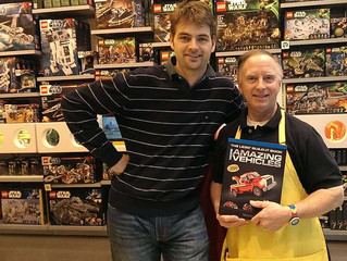 Meet Richard at the LEGO Store