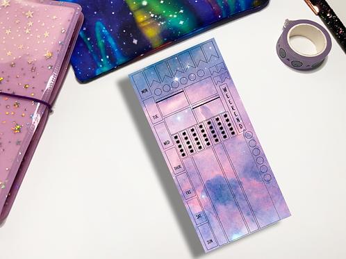 Pastel Galaxy Hobonichi Kit