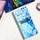 Thumbnail: Blue Splatter Hobonichi Kit