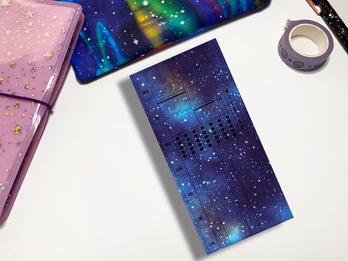 Purple Galaxy Hobonichi Kit