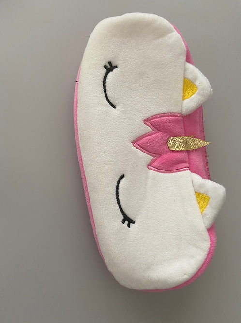 Sleepy Pink Unicorn Pencil Bag