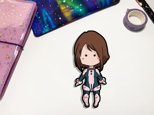 Uraraka Kawaii Vinyl Sticker