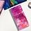 Thumbnail: Pink Galaxy Hobonichi Kit