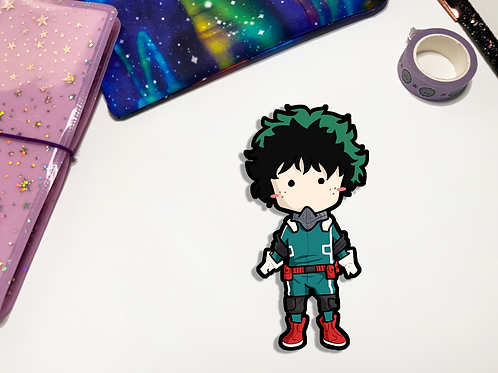 Izuku Kawaii Vinyl Sticker