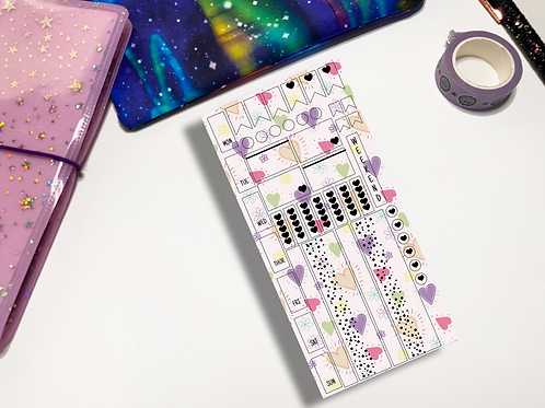 Heart Doodle Hobonichi Kit