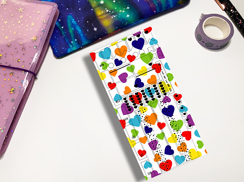 Rainbow Love Hobonichi Kit