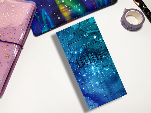 Blue Water Galaxy Hobonichi Kit