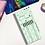Thumbnail: Pastel Green Plaid Hobonichi Kit