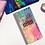 Thumbnail: Watercolor Spill Hobonichi Kit