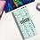 Thumbnail: Pastel Blue Flower Scatter Hobonichi Kit
