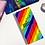 Thumbnail: Rainbow Stripes Hobonichi Kit