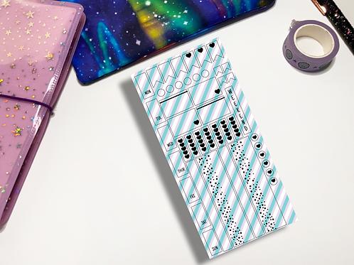 Cool Stripes Hobonichi Kit